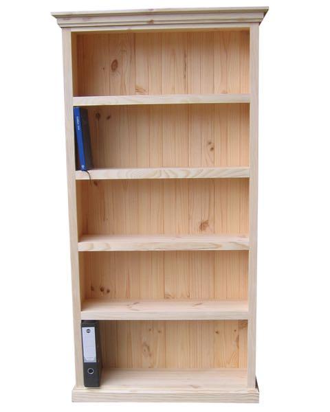 6×3 Deluxe Bookcase Raw