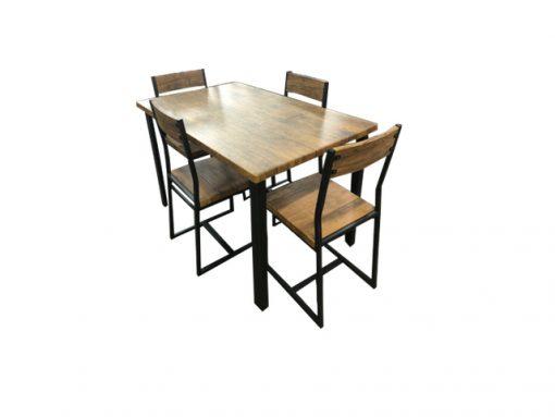 5 Pce Ironside Dining Setting