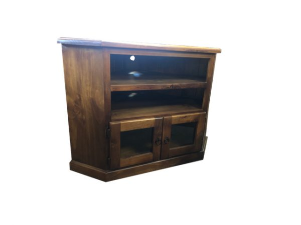 Ohio 2 slot corner tv unit