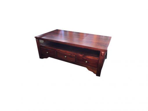 Pinnacle Coffee Table with Shelf
