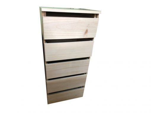 Farmers 5 Drawer Robe Insert raw