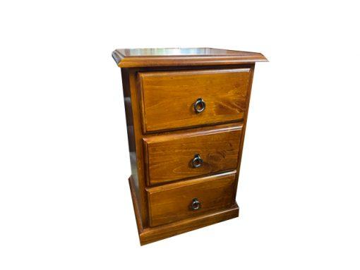 Somerton 3 drawer bedside