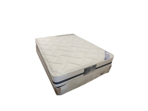 Doube Hypersoft Mattress and Base