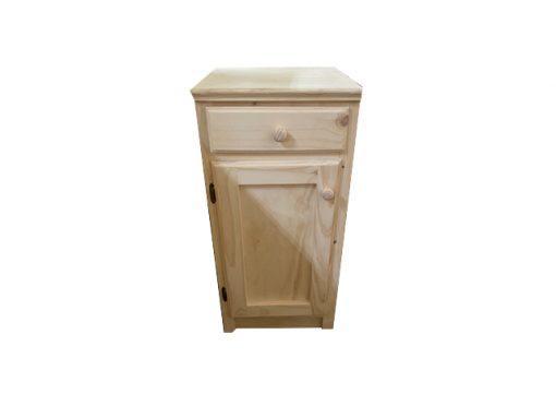 1 Door 1 drawer base unit raw