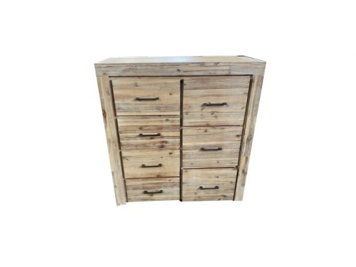 Micasa 7 Drawer Tallboy